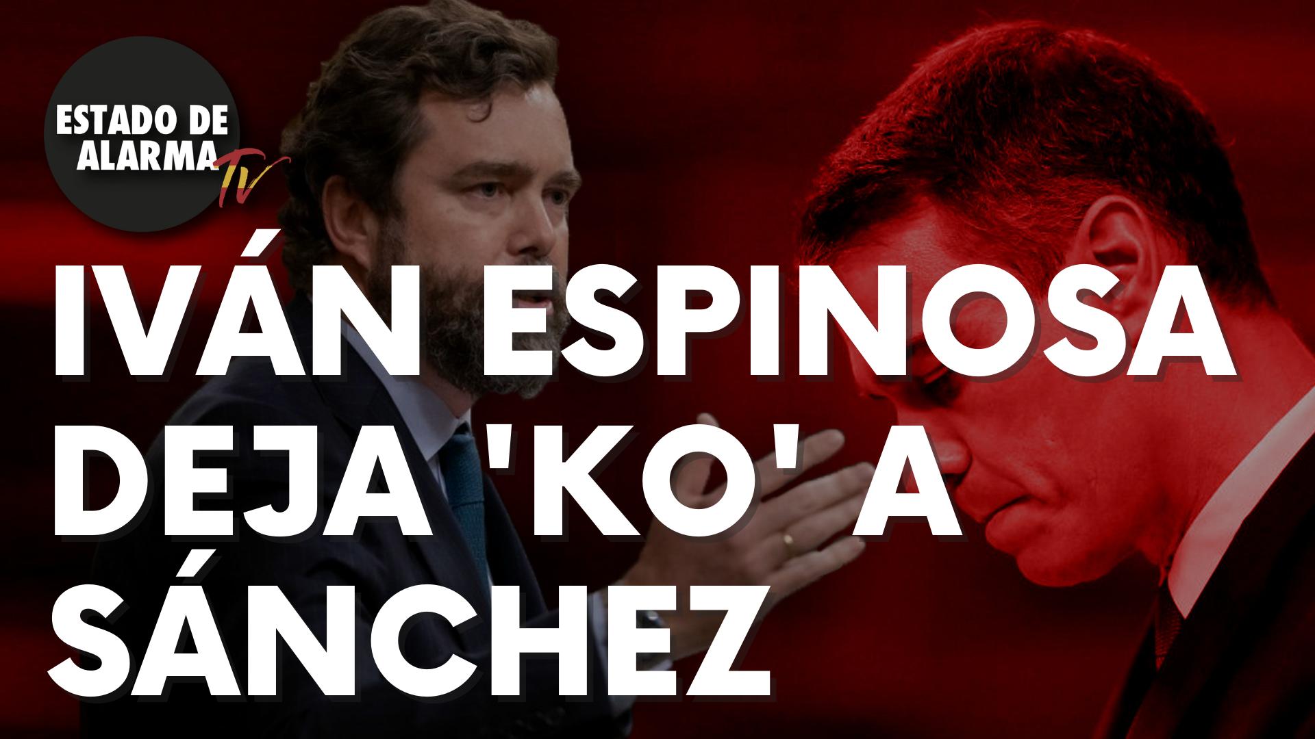 Iván Espinosa deja 'KO' a Sánchez por blanquear a Bildu