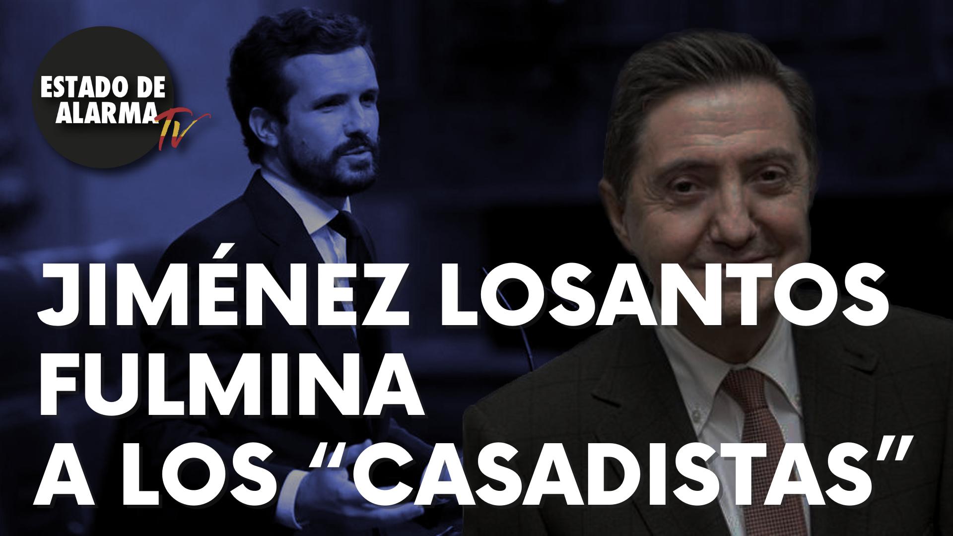 """Jiménez Losantos fulmina a los """"casadistas"""""""