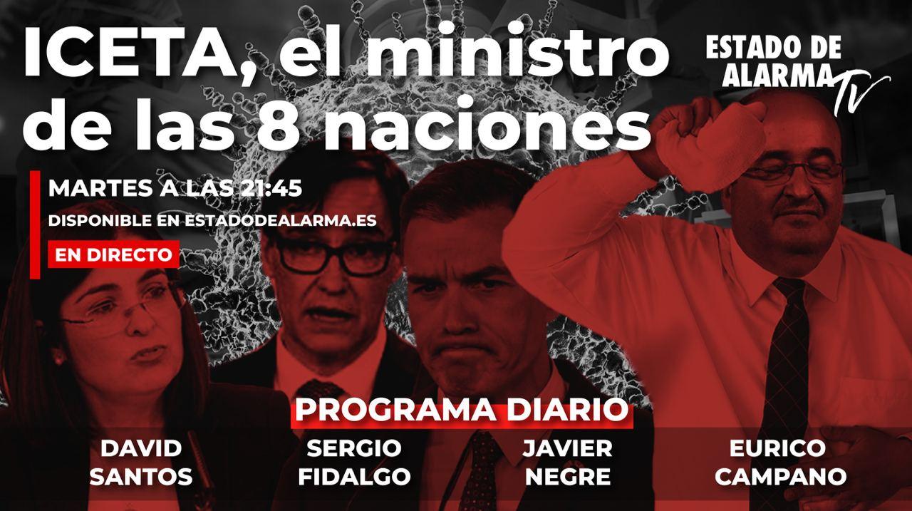 En Directo con Javier Negre: ICETA, el ministro de las 8 naciones