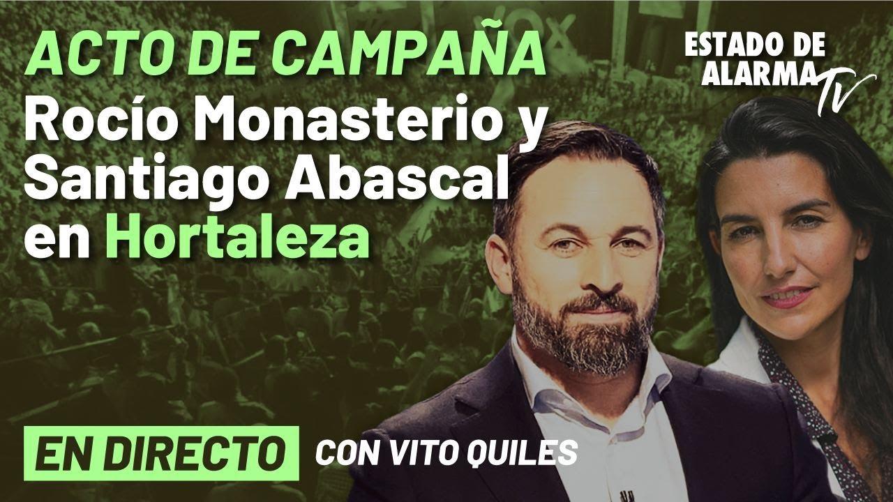 DIRECTO | Mitin de Santiago Abascal en Hortaleza; con Vito Quiles