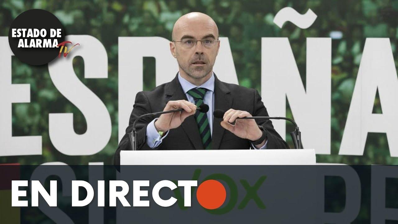 DIRECTO | Jorge Buxadé rueda de prensa VOX