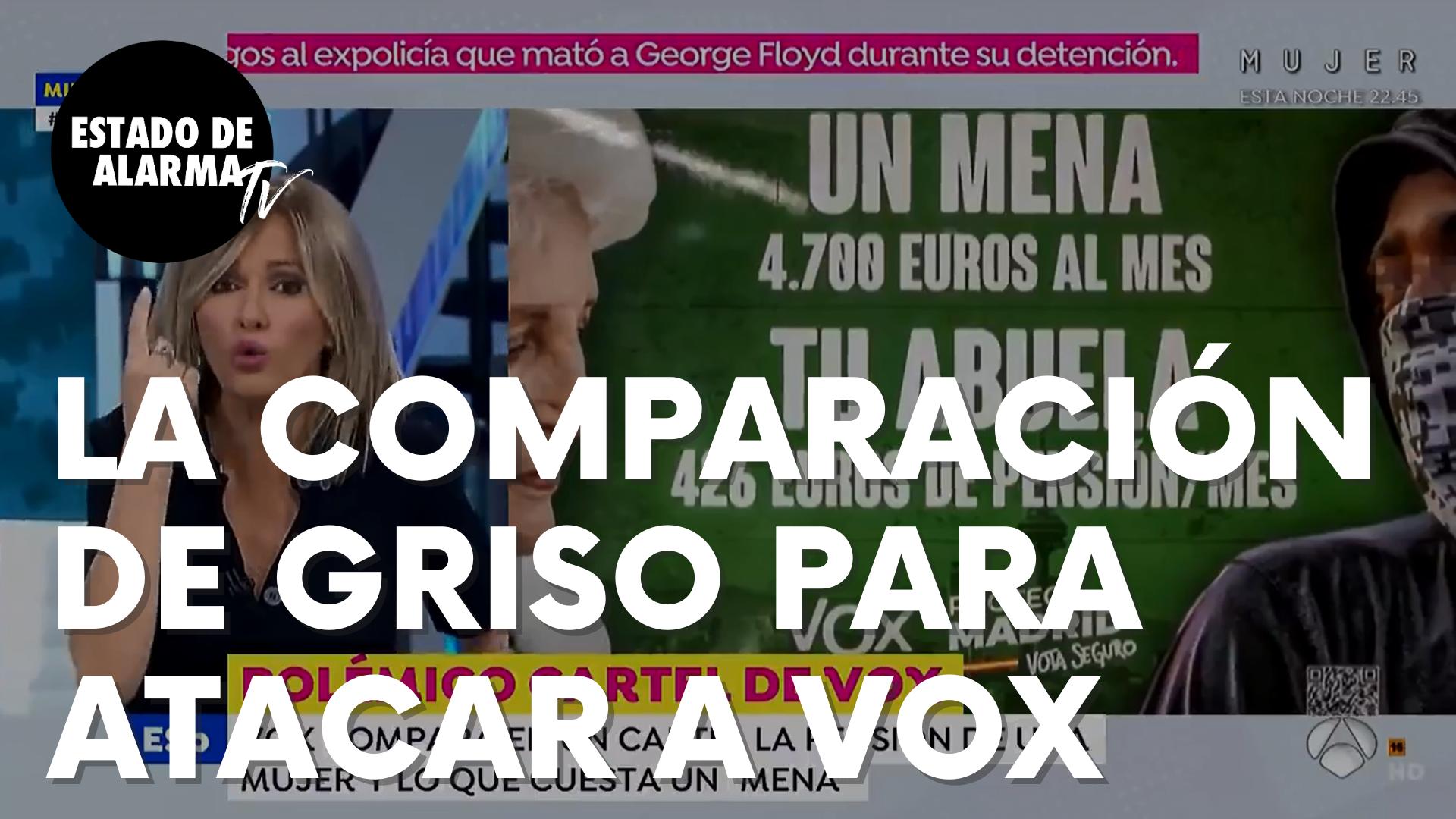 Susanna Griso utiliza esta sorprendente comparación para atacar a Vox a cuenta de los 'menas'