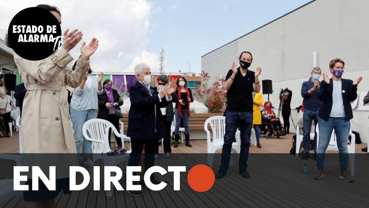 DIRECTO | Acto de campaña de Podemos con Pablo Iglesias en Alcorcón