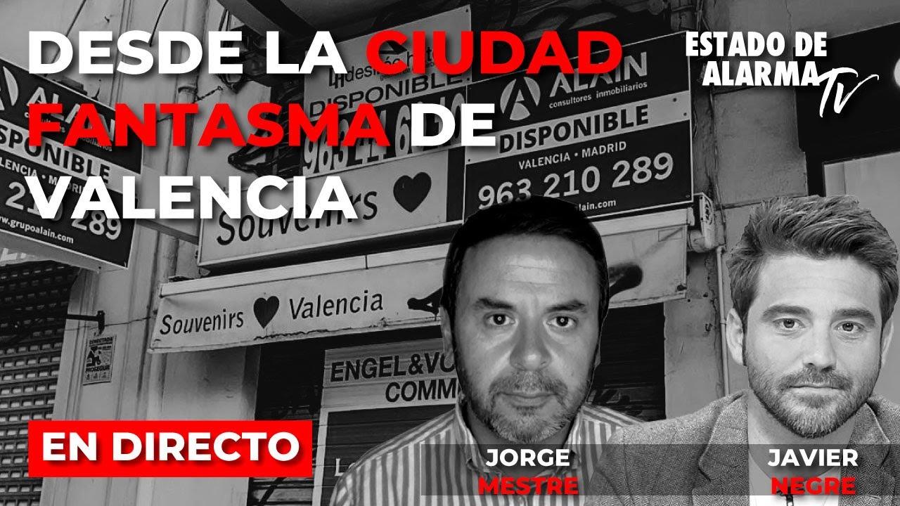 En Directo: Mestre y Negre desde la ciudad fantasma de Valencia