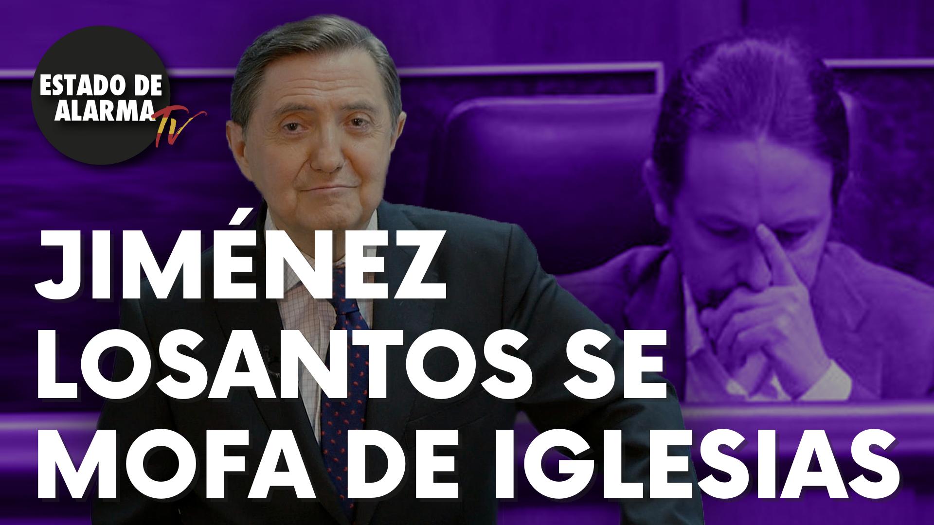 Jiménez Losantos se mofa de Iglesias a cuenta del castellano