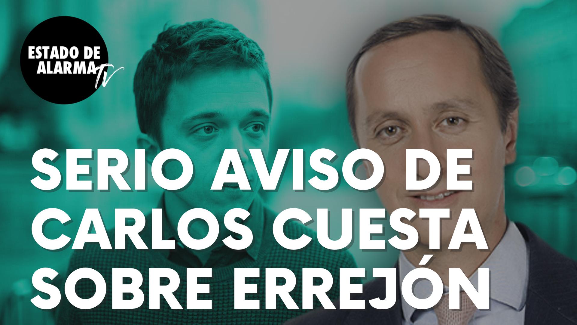 """Esta es la seria advertencia del periodista Carlos Cuesta sobre Errejón: """"Éste es más hábil..."""""""