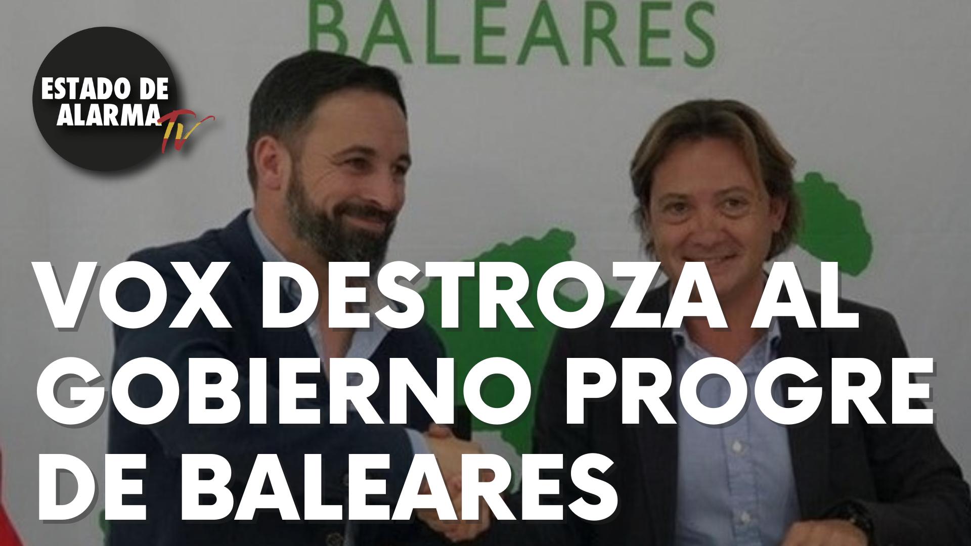 Vox destroza al Gobierno 'progre' de Baleares a cuenta del lobbies climático