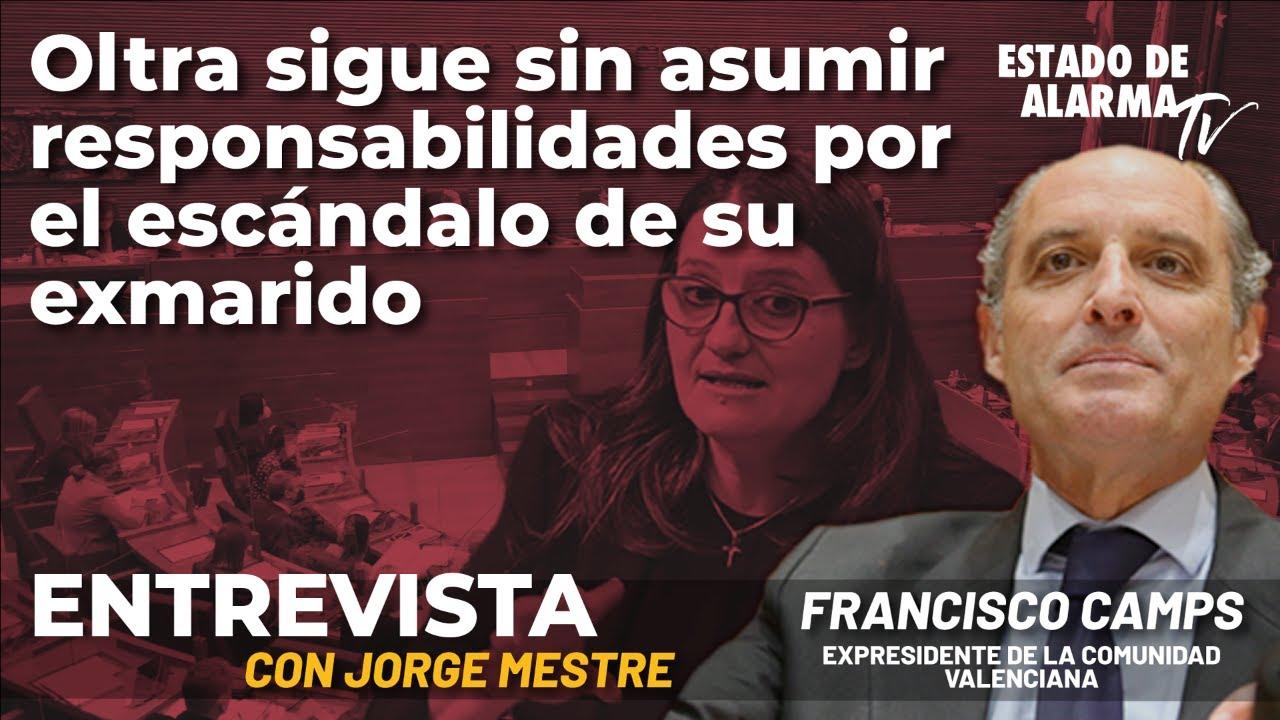 Entrevista a Francisco Camps: Oltra sigue sin asumir responsabilidades por el escándalo