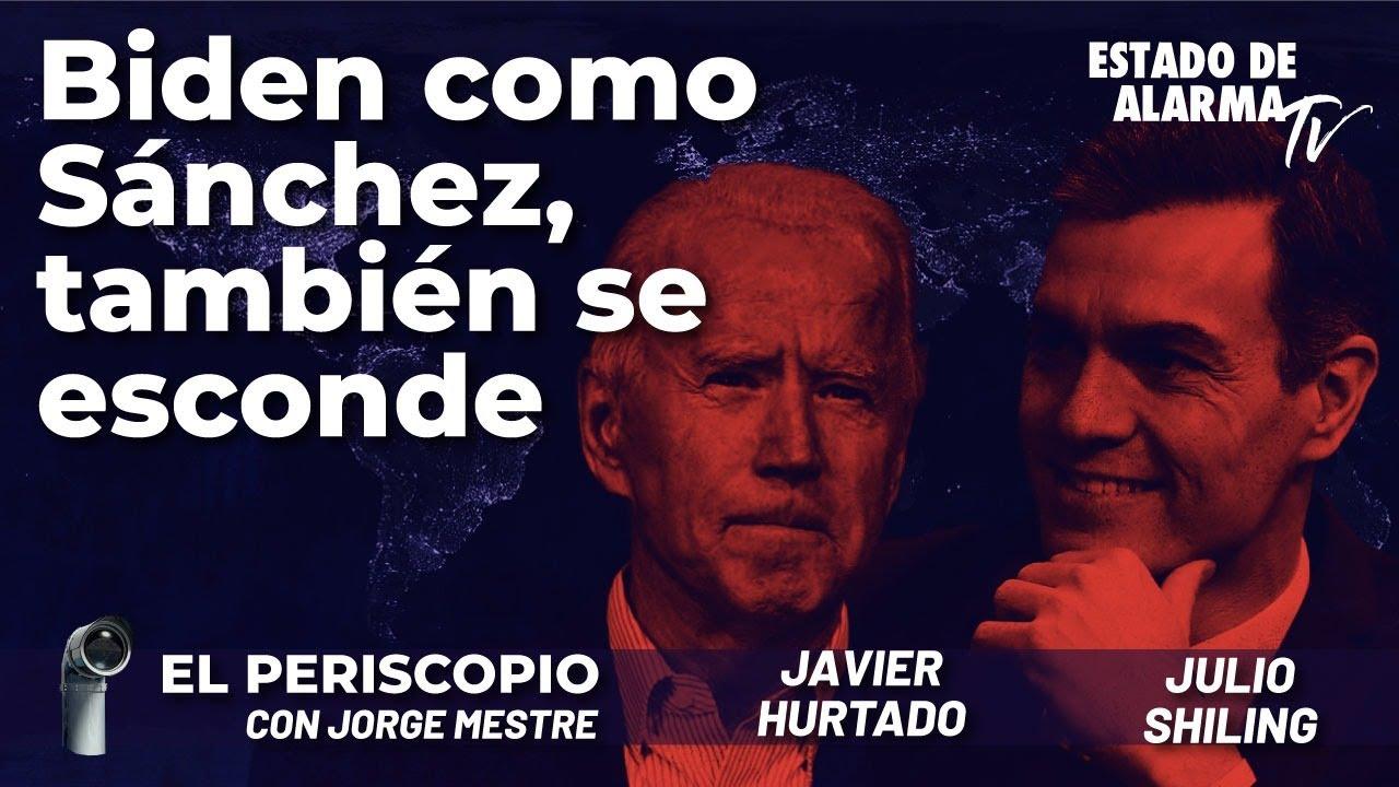 Biden como Sánchez, también se esconde; Directo con Jorge Mestre, Javier Hurtado y Julio Shiling