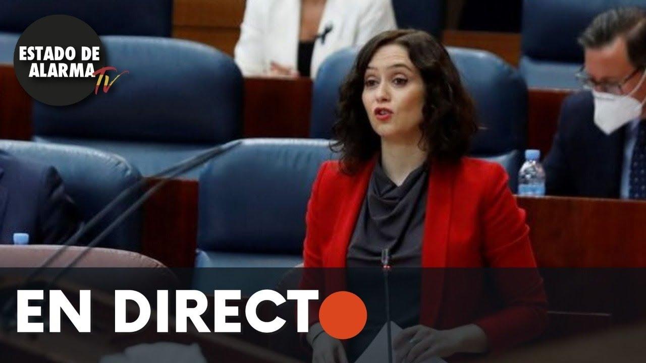 DIRECTO | Pleno Asamblea de Madrid