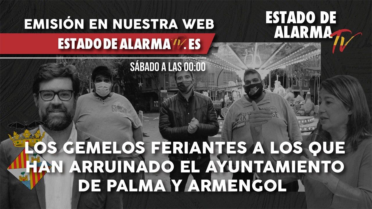 Los gemelos feriantes a los que han arruinado el ayuntamiento de Palma y Armengol