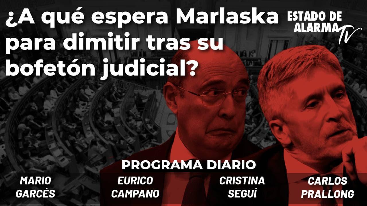 ¿A qué espera Marlaska para dimitir tras su bofetón judicial? Campano, Garcés, Seguí, Prallong