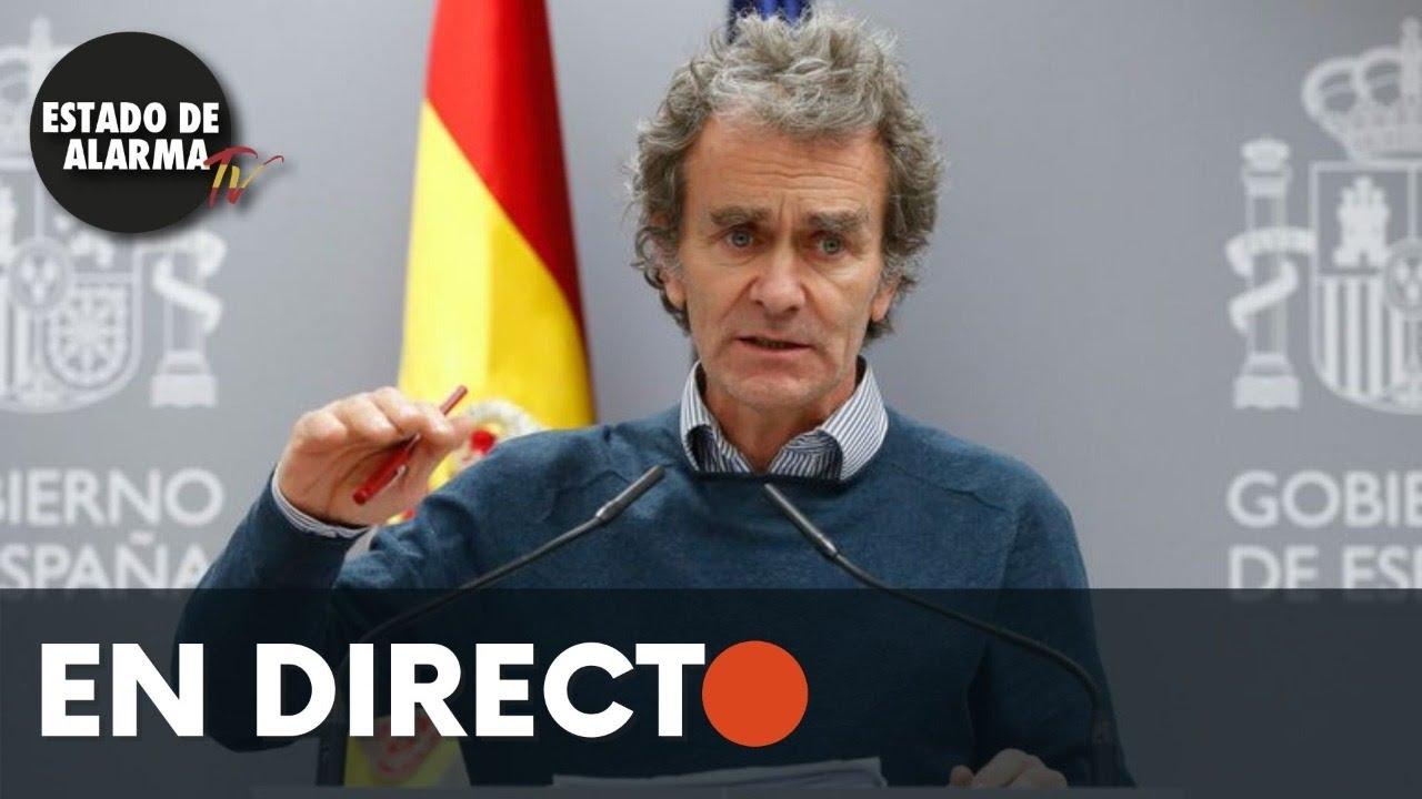 DIRECTO | Rueda de prensa Fernando Simón sobre seguimiento de la Pandemia