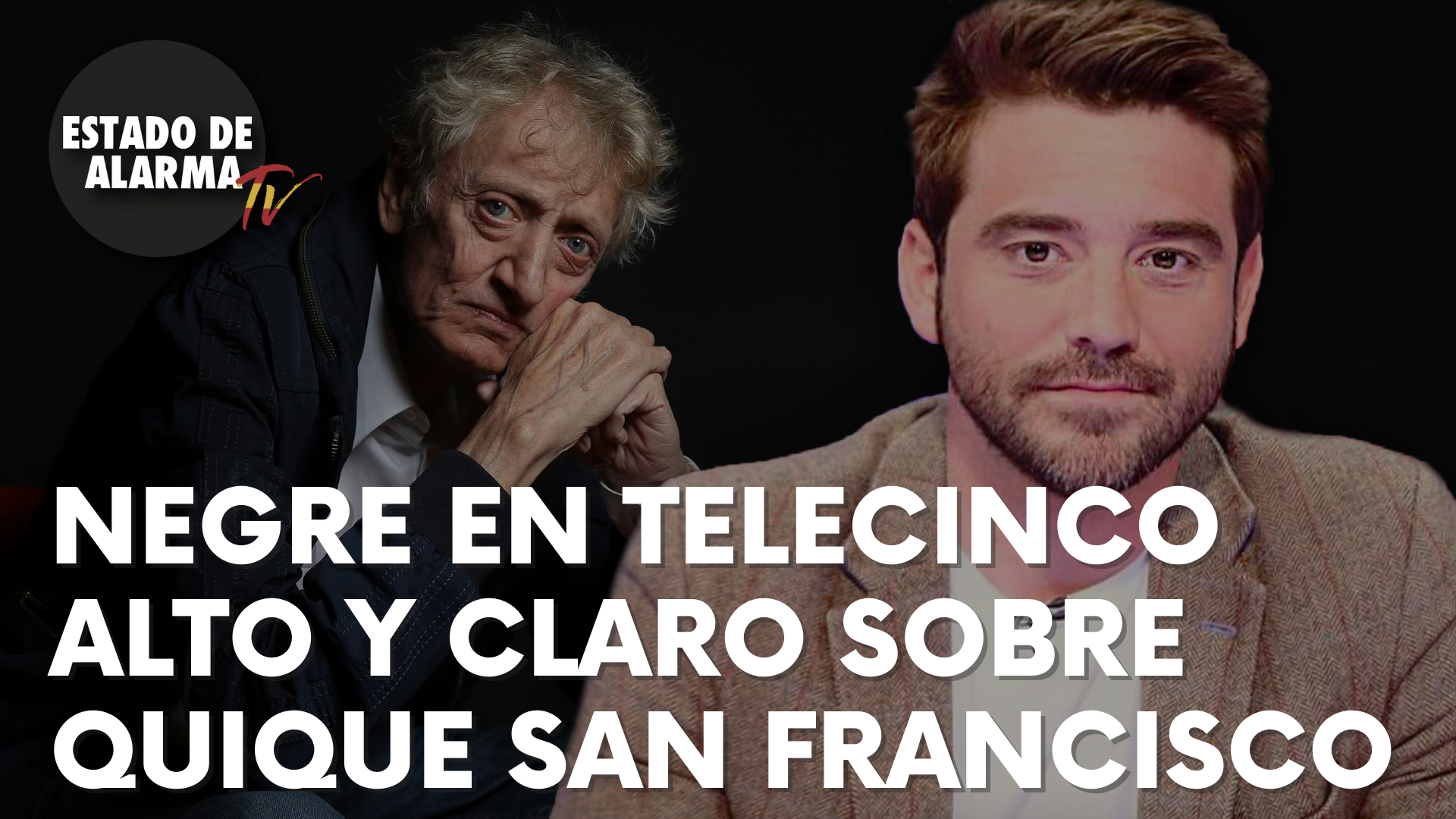 Javier Negre habla alta y claro en Telecinco sobre Quique San Francisco