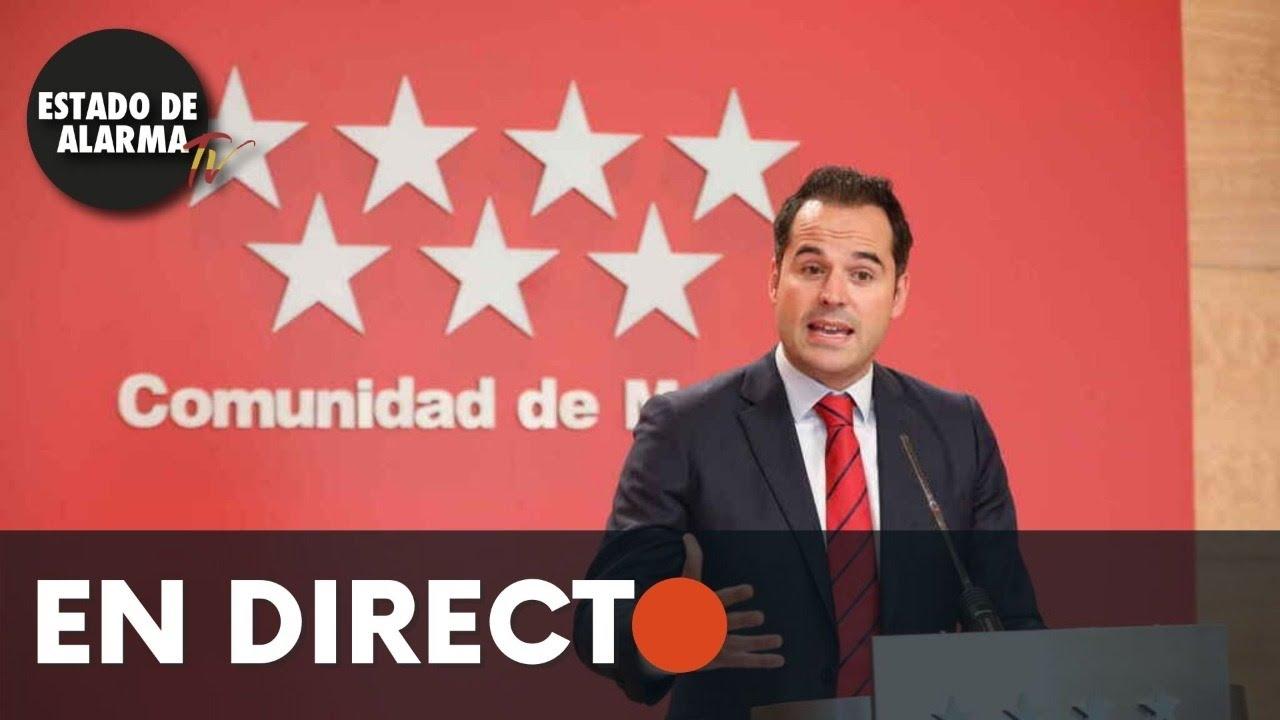 DIRECTO | Acción de gobierno Comunidad de Madrid