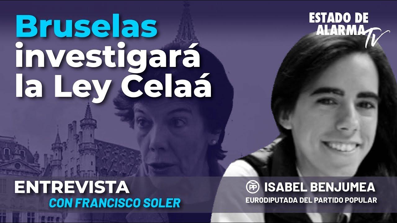 Entrevista a Isabel Benjumea, Eurodiputada del PP: Bruselas investigará la Ley Celaá; con Fran Soler
