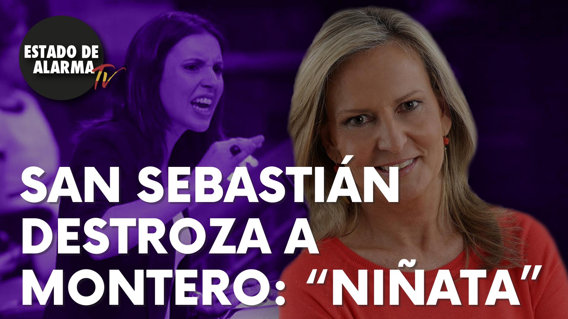 "Isabel San Sebastián destroza a Montero: ""Niñata"""