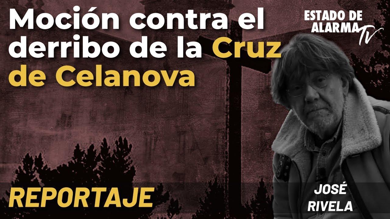 Reportaje: Moción contra el derribo de la Cruz de Celanova