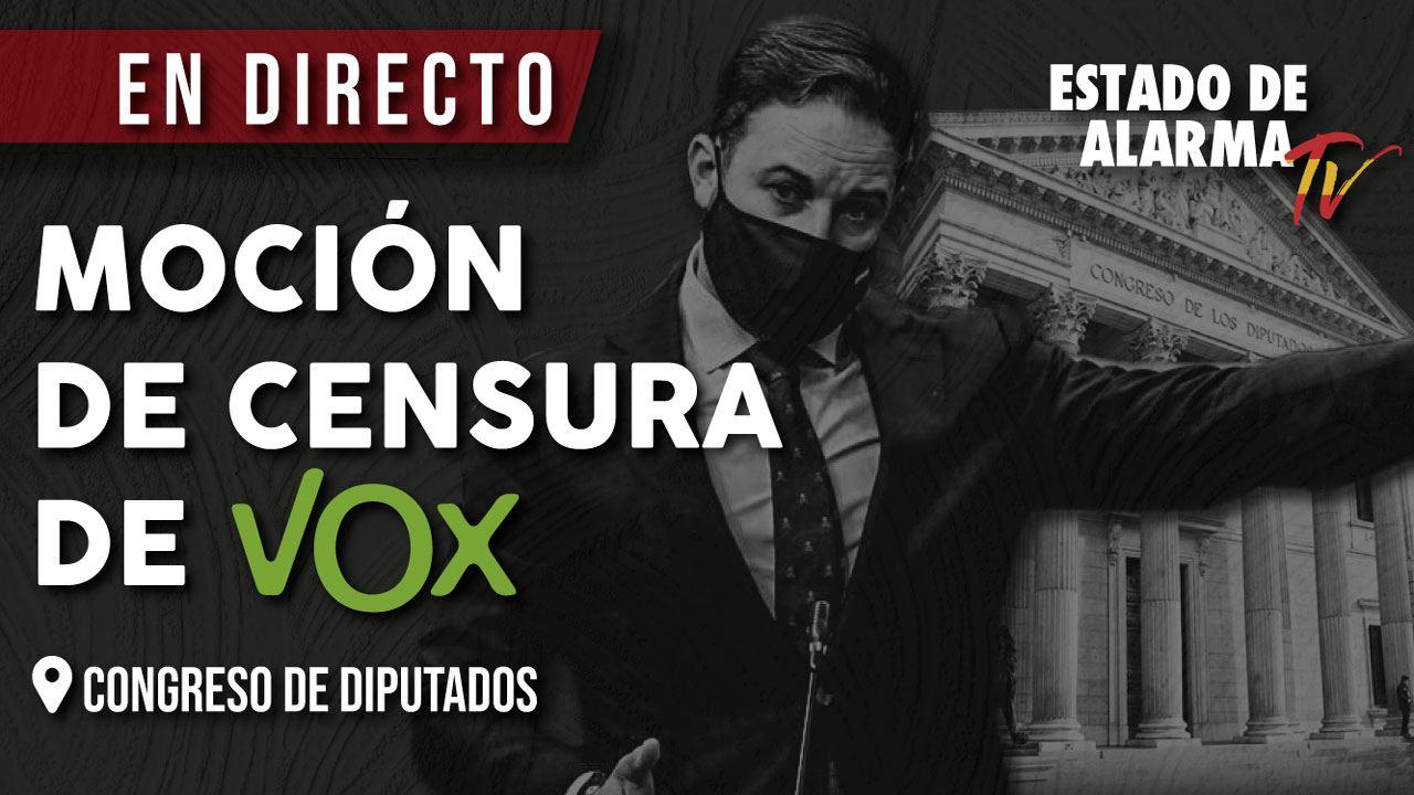 NUEVO DIRECTO Moción de censura Vox Congreso