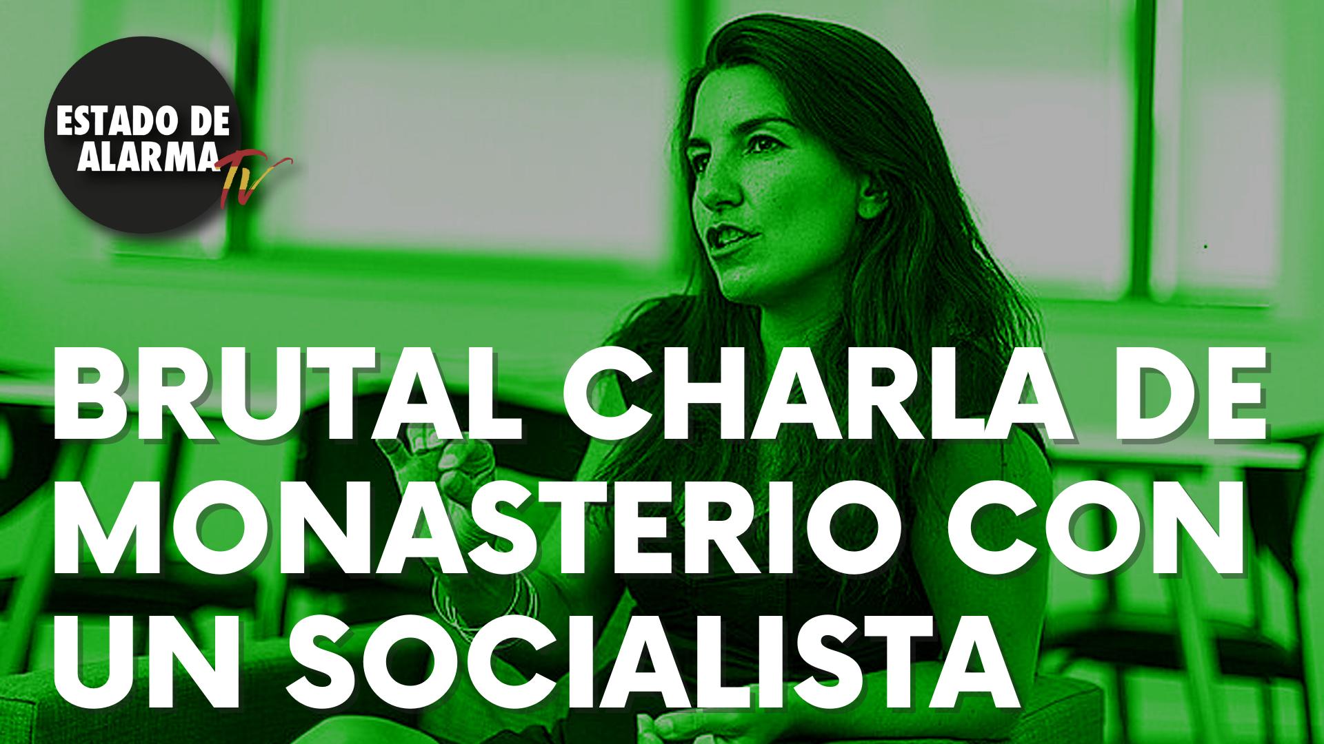 "Brutal conversación que Rocío Monasterio con un socialista: ""¡Gracias por invitarme al café!"""