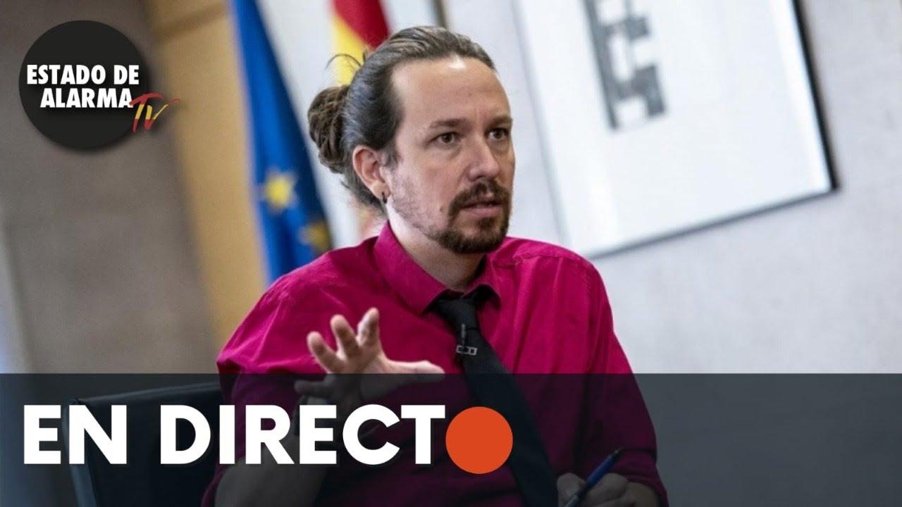 DIRECTO | Pablo Iglesias reunión en el Parlamento EU