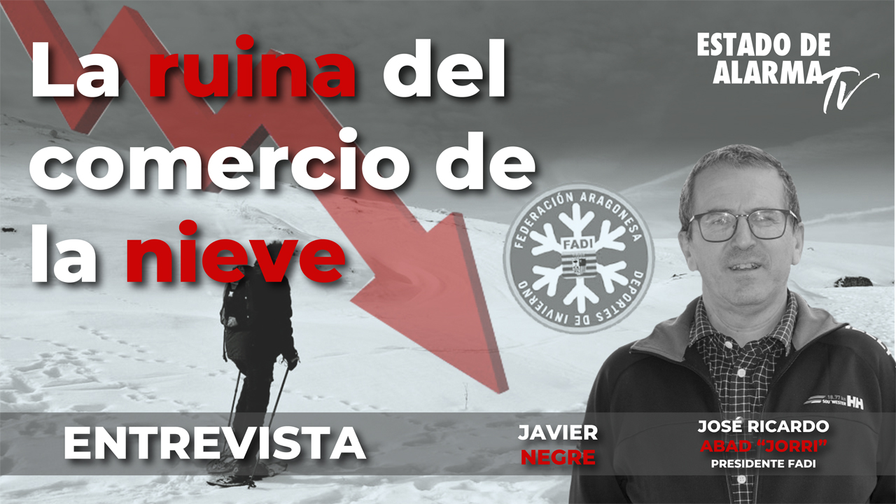 Entrevista La ruina del comercio de la nieve, José Ricardo Abad 'Jorri'