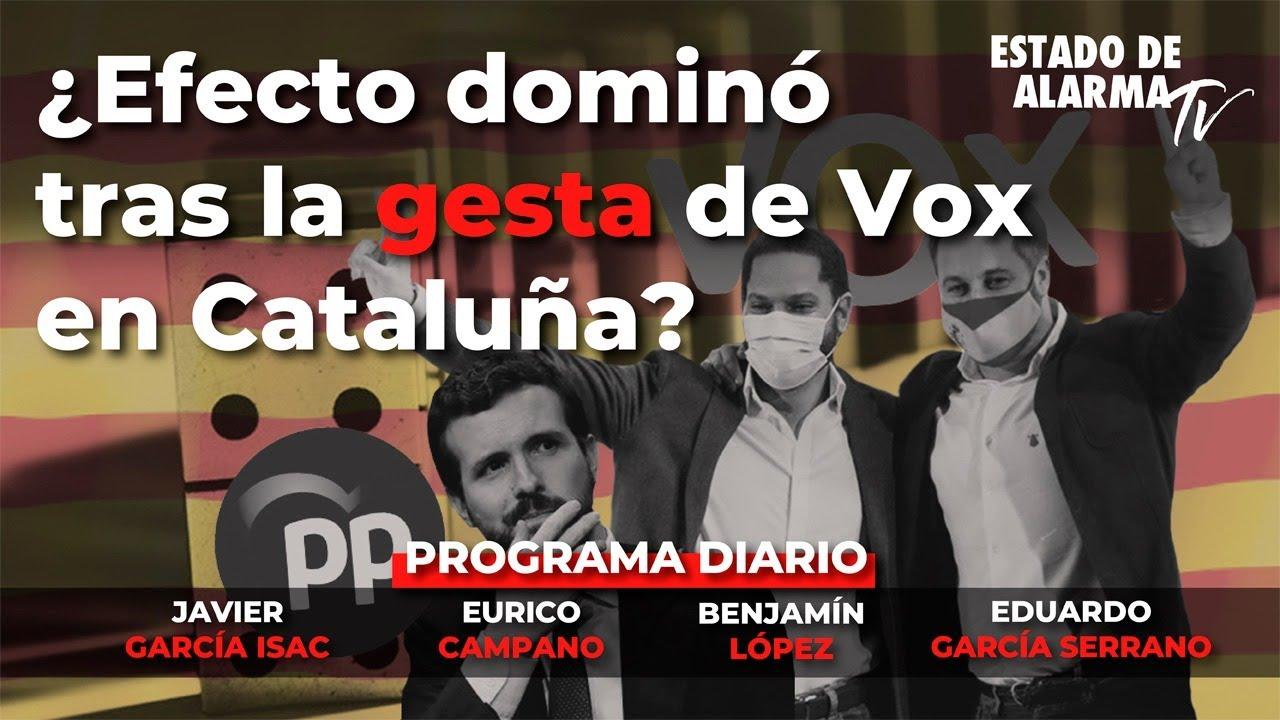 En Directo con Eurico Campano: ¿Efecto dominó tras la gesta de VOX en Cataluña?