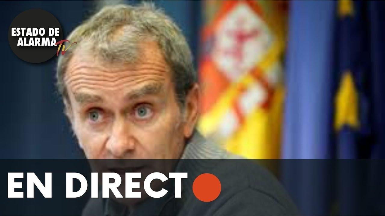 DIRECTO Rueda de prensa de Fernando Simón para la última hora del CORONAVIRUS