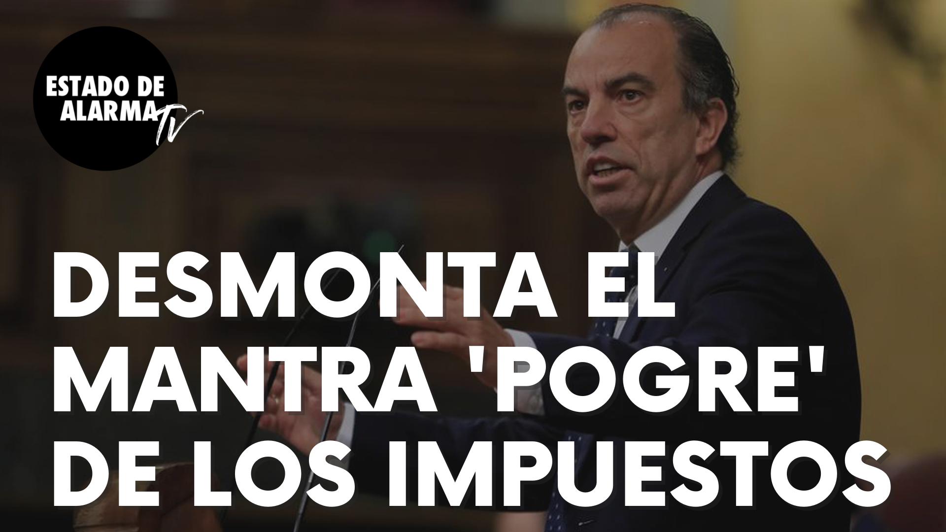 Carlos García Adanero desmonta solito el mantra 'progre' de los impuestos para ricos