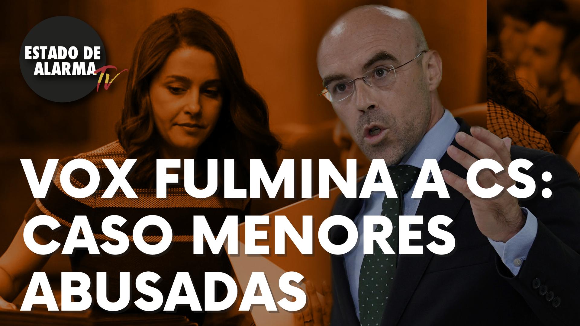 Vox fulmina a Ciudadanos por el caso de menores abusadas en Baleares