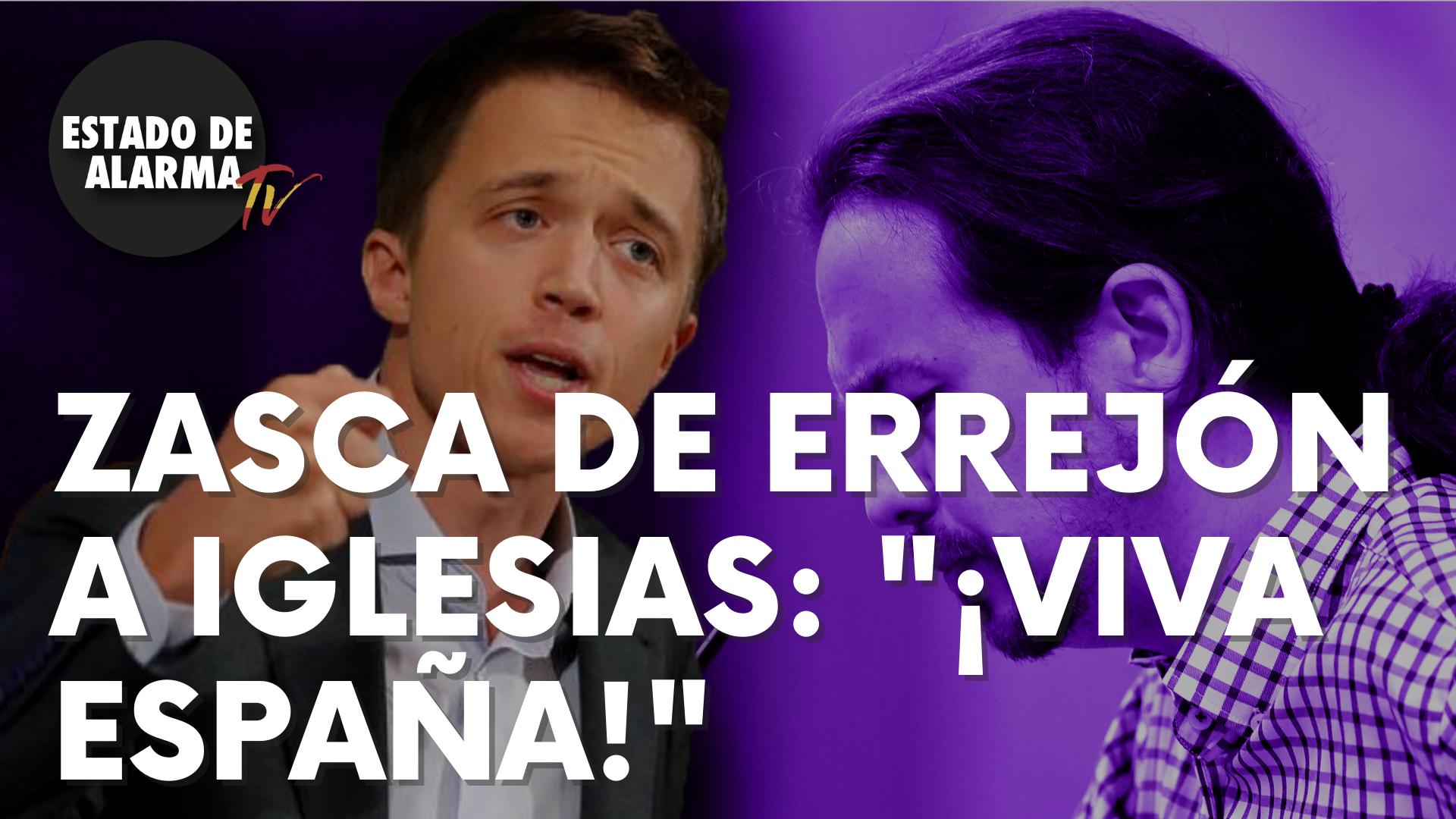 """Brutal zasca del ex de Podemos, Íñigo Errejón, al actual líder morado Pablo Iglesias: """"¡Víva España!"""""""