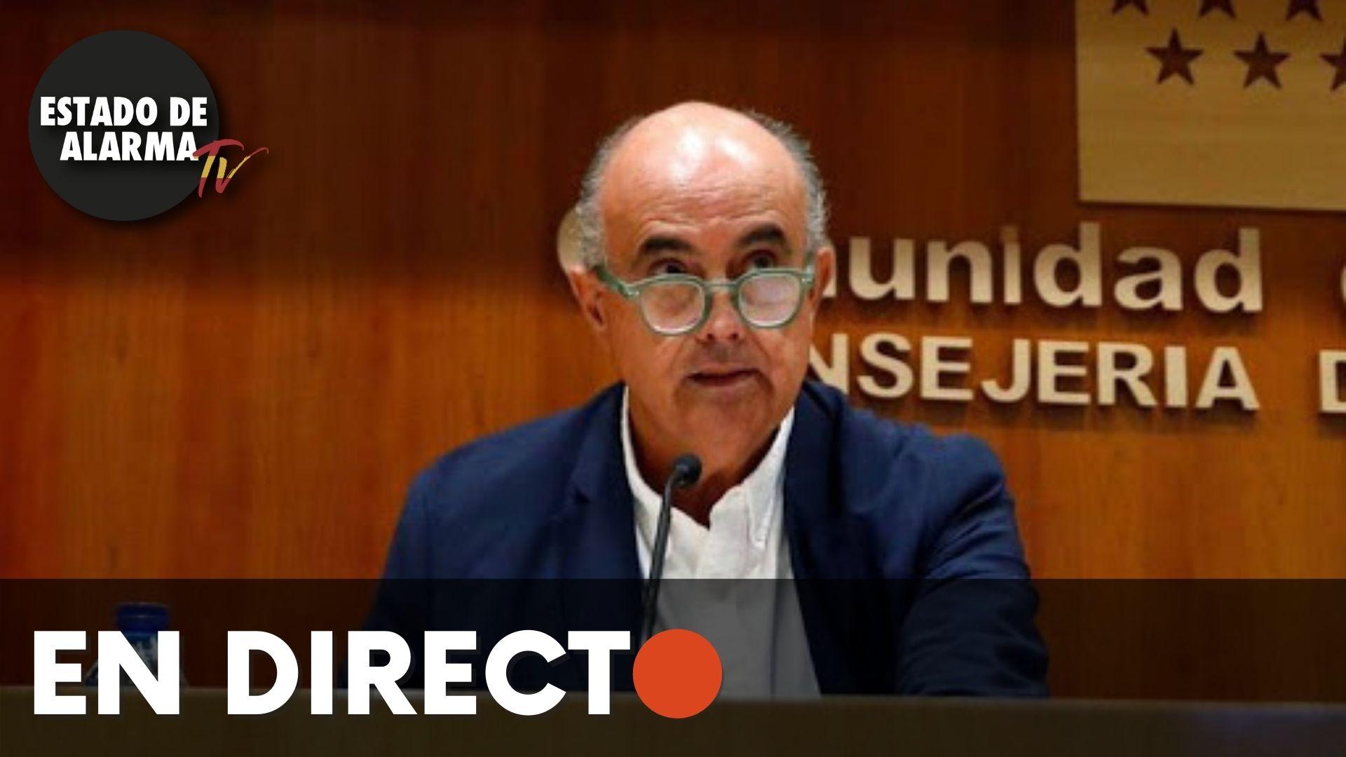 EN DIRECTO | Zapatero informa sobre la situación del coronavirus en la Comunidad de Madrid