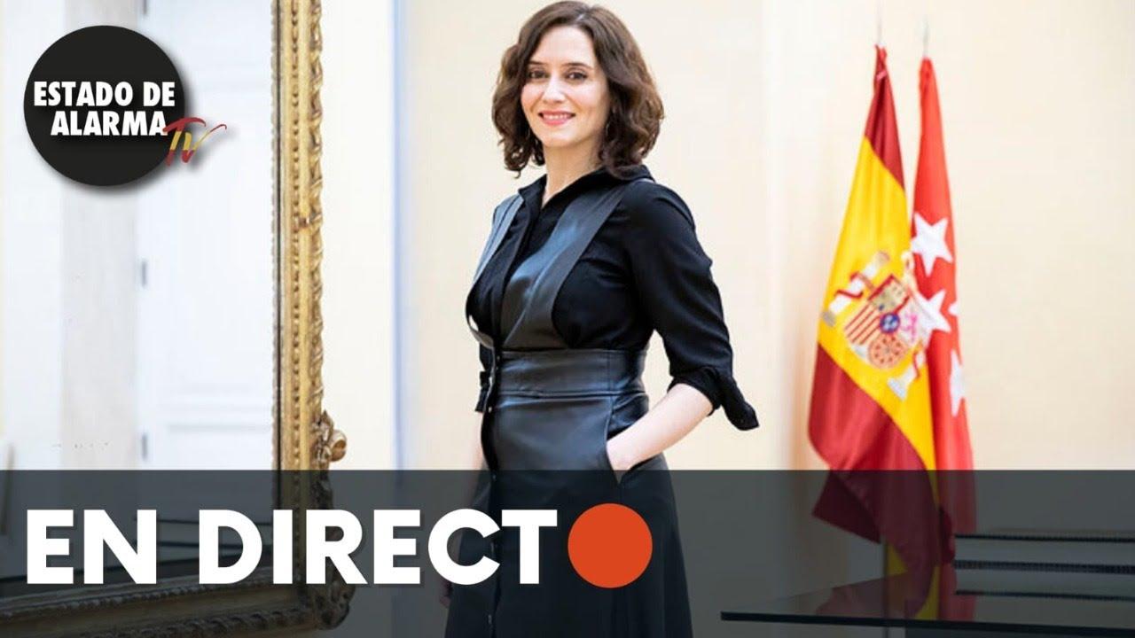 DIRECTO | Díaz Ayuso visita las obras de Valdebebas y T4