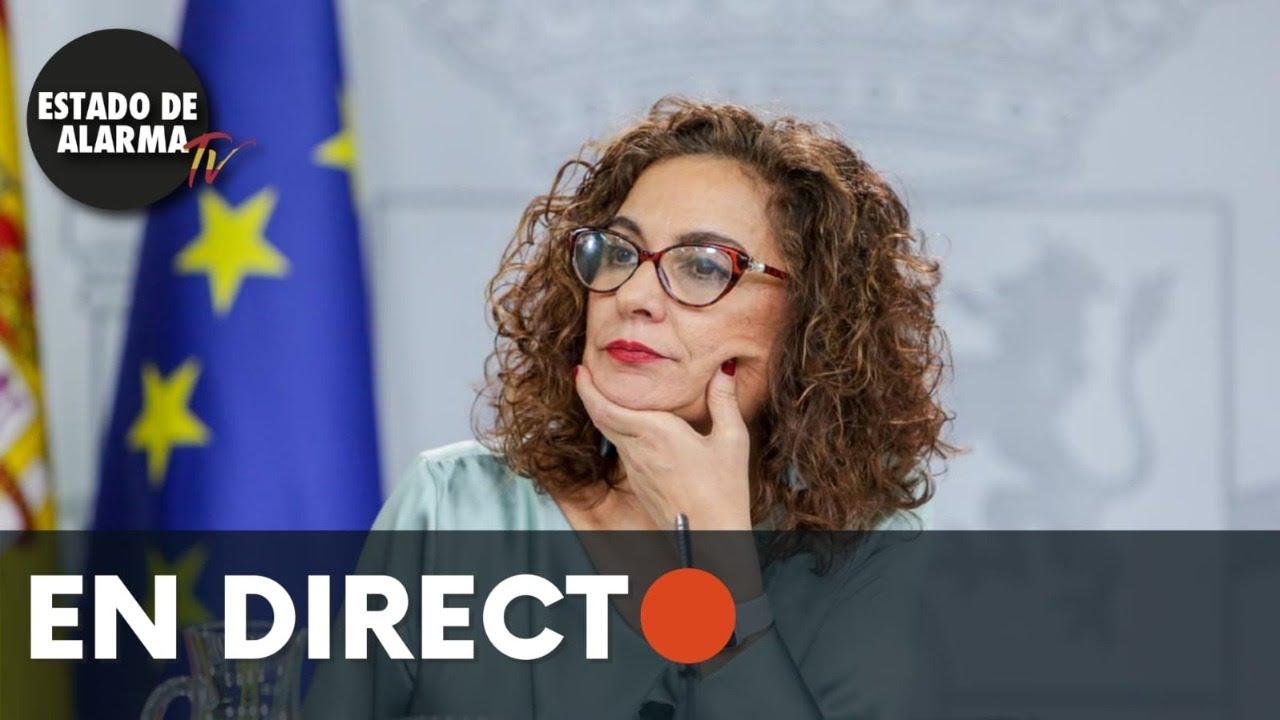 DIRECTO | María Jesus Montero comparece después del Consejo de Ministros