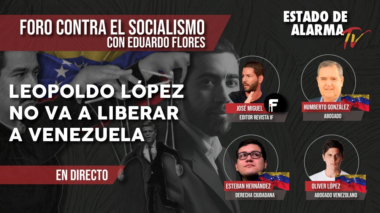 FORO CONTRA EL SOCIALISMO: LEOPOLDO LÓPEZ NO va a LIBERAR a VENEZUELA