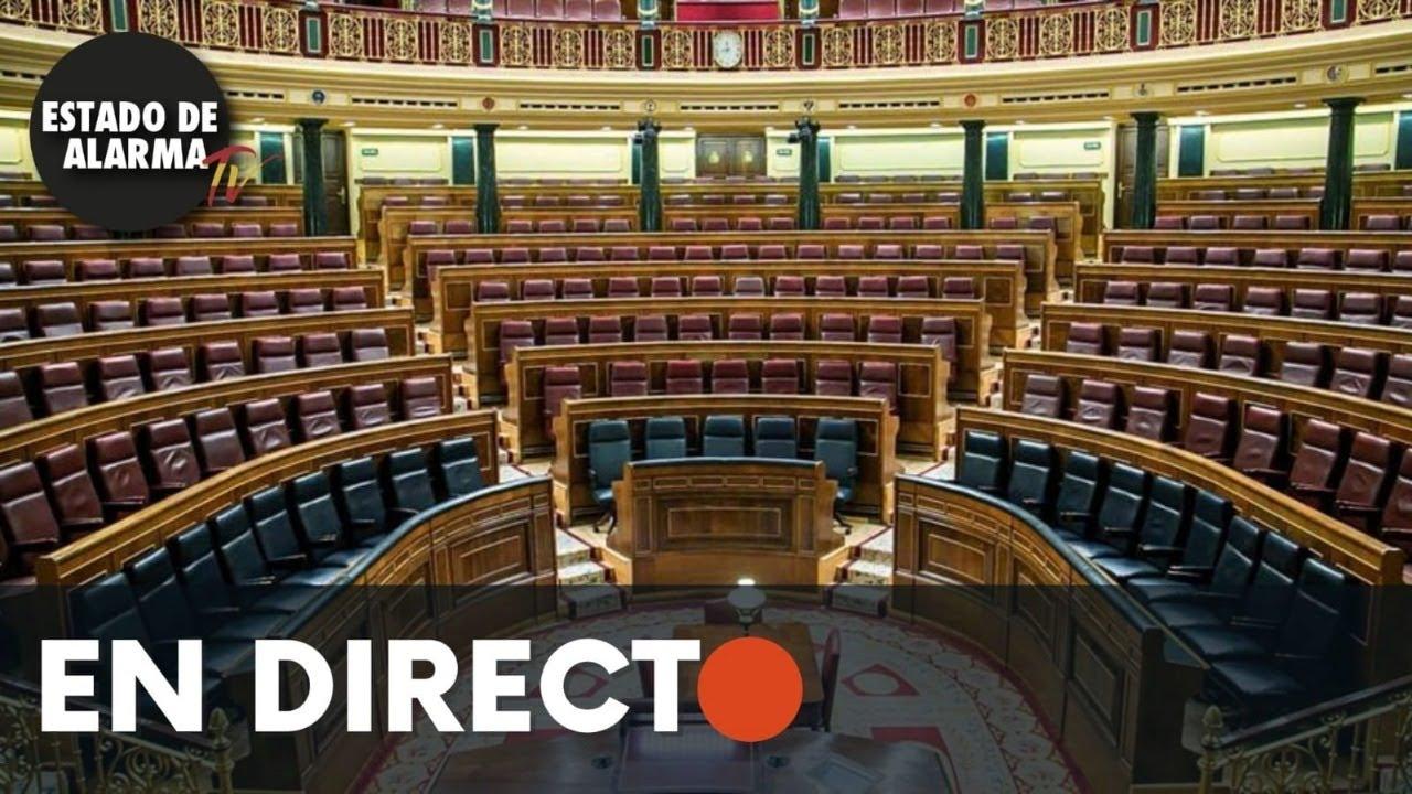 DIRECTO | Sesión Plenaria en el Congreso de los Diputados