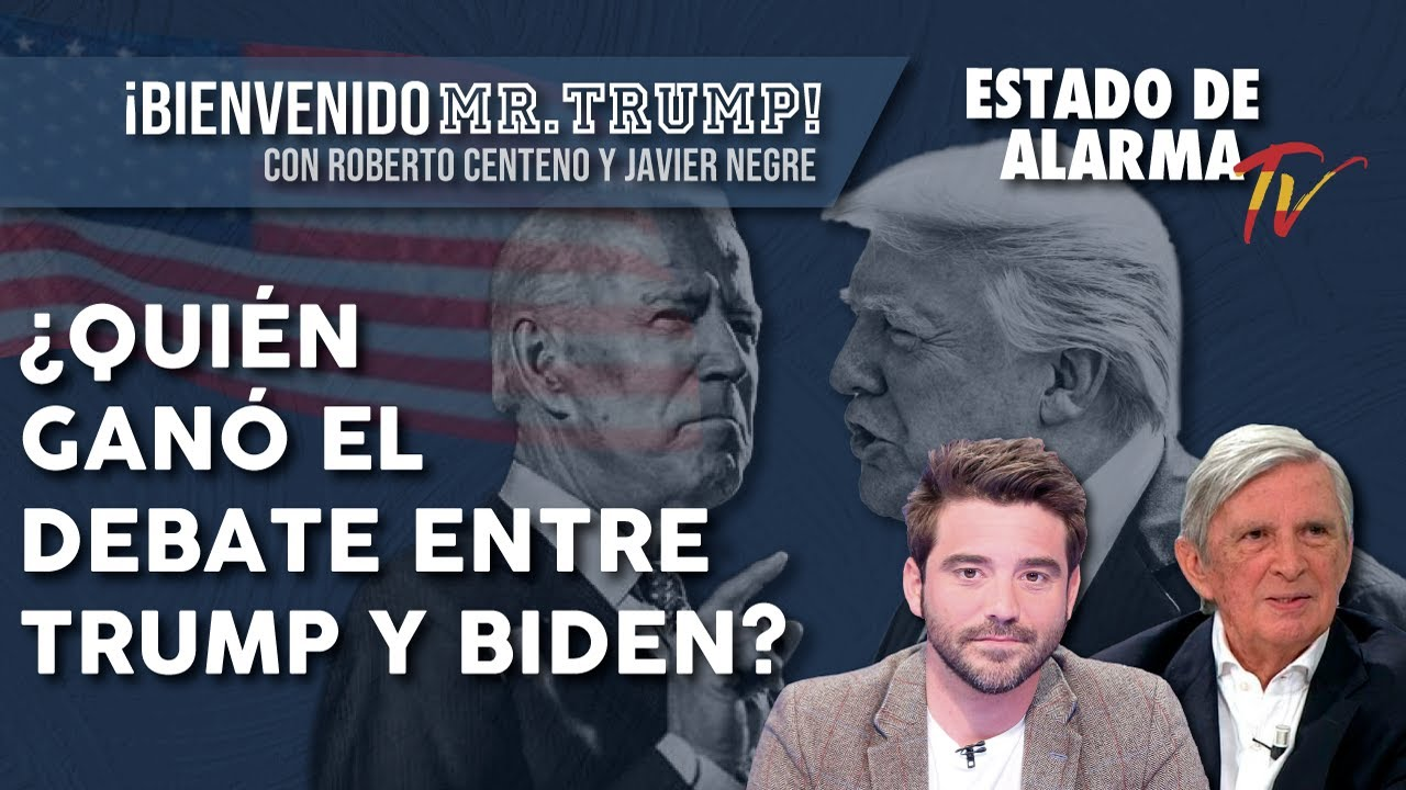 ROBERTO CENTENO: ¿Quién GANÓ el debate entre TRUMP y BIDEN?