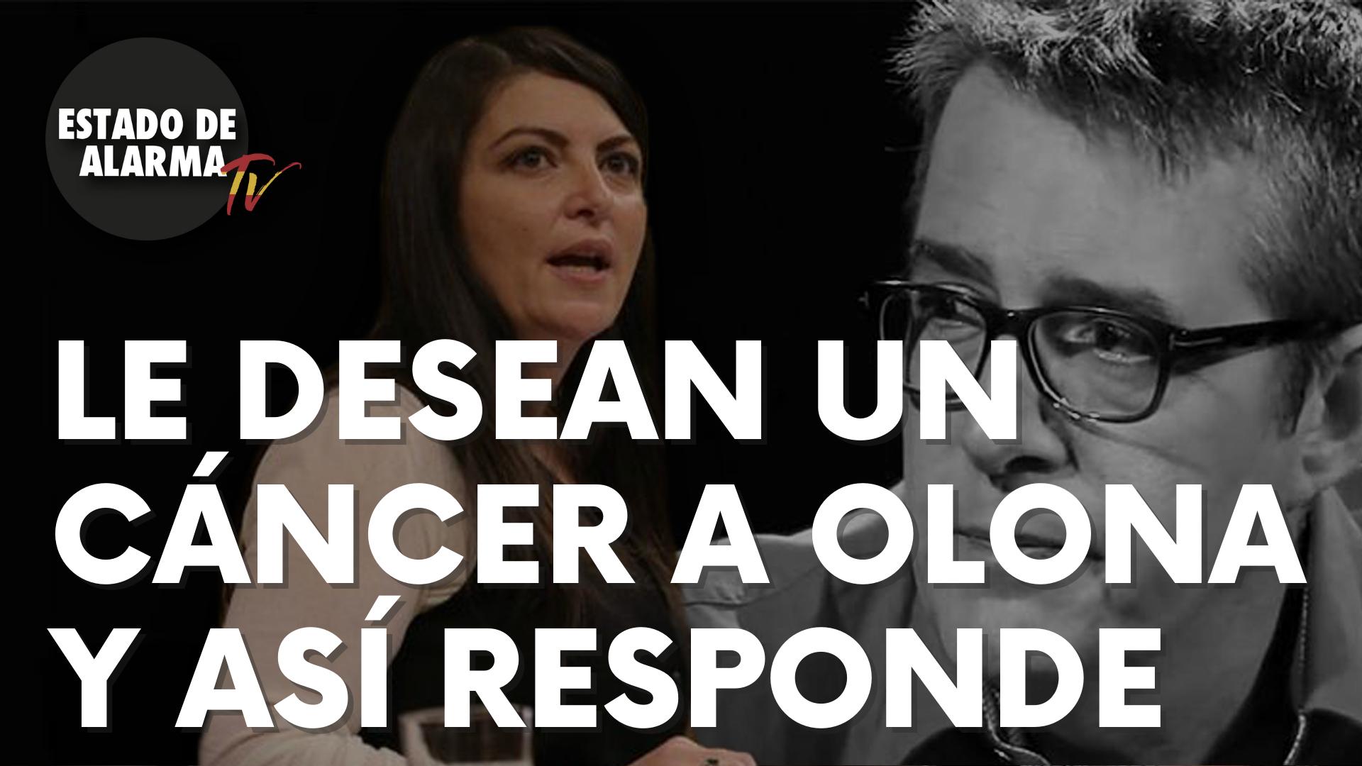 Le desean un cáncer a Macarena Olona y así responde ella