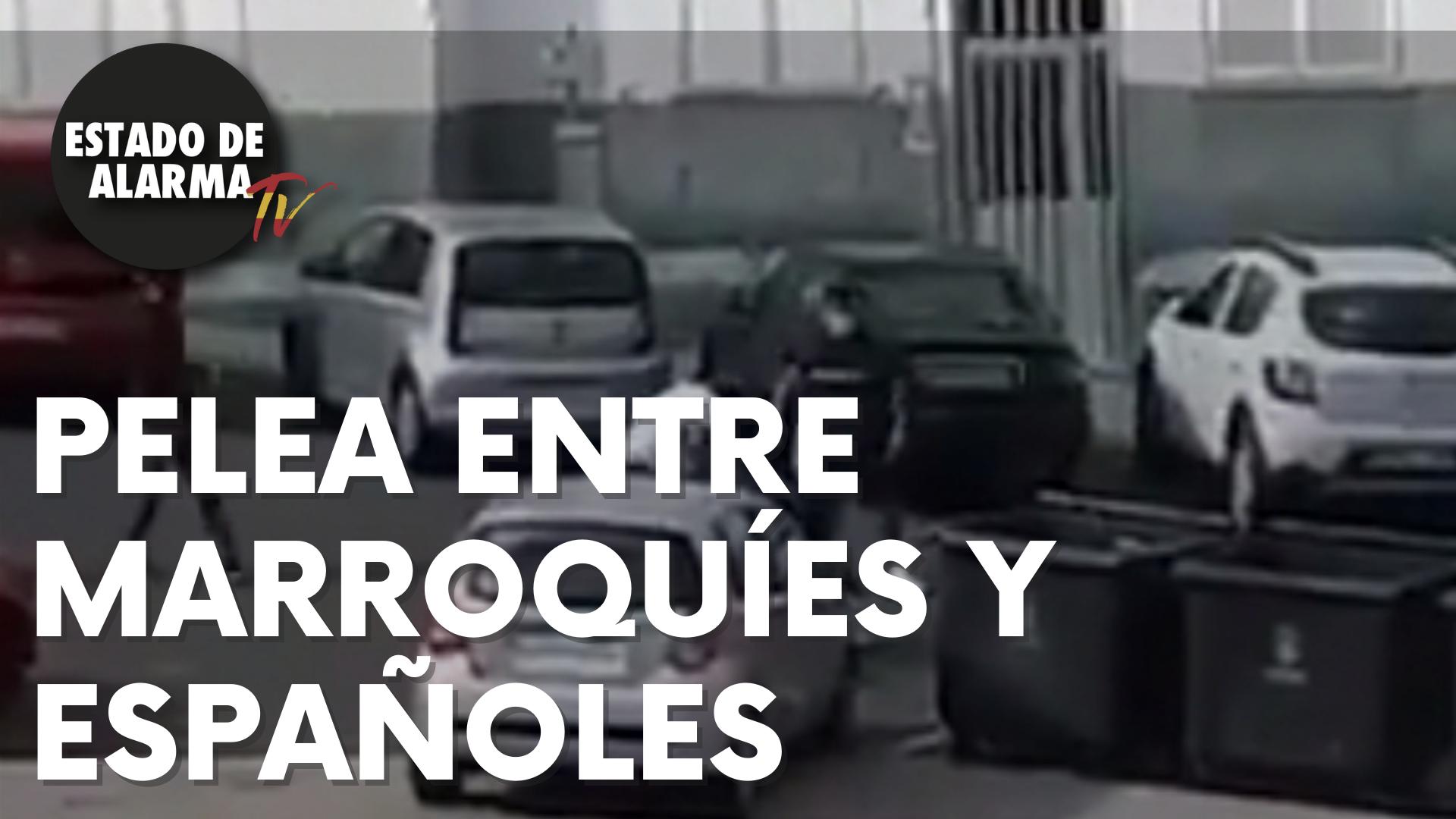 BRUTAL PELEA entre MARROQUÍES y ESPAÑOLES en ZÁRATE (Canarias)
