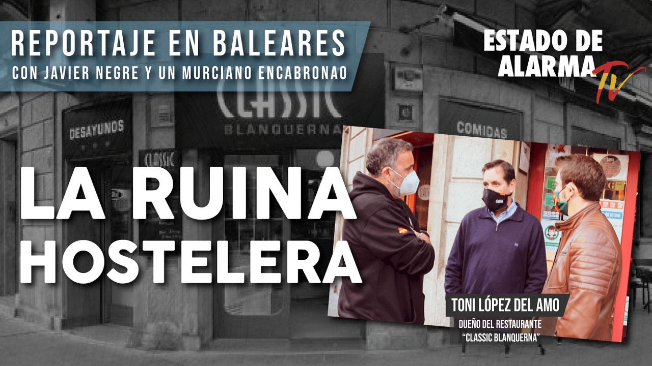"""ENTREVISTA a TONI LÓPEZ DEL AMO, RESTAURANTE """"CLASSIC BLANQUERNA"""" La RUINA HOSTELERA"""