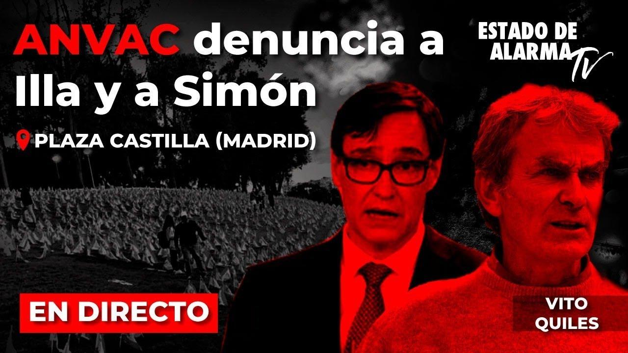 EN DIRECTO con Vito: ANVAC denuncia a Illa y a Simón