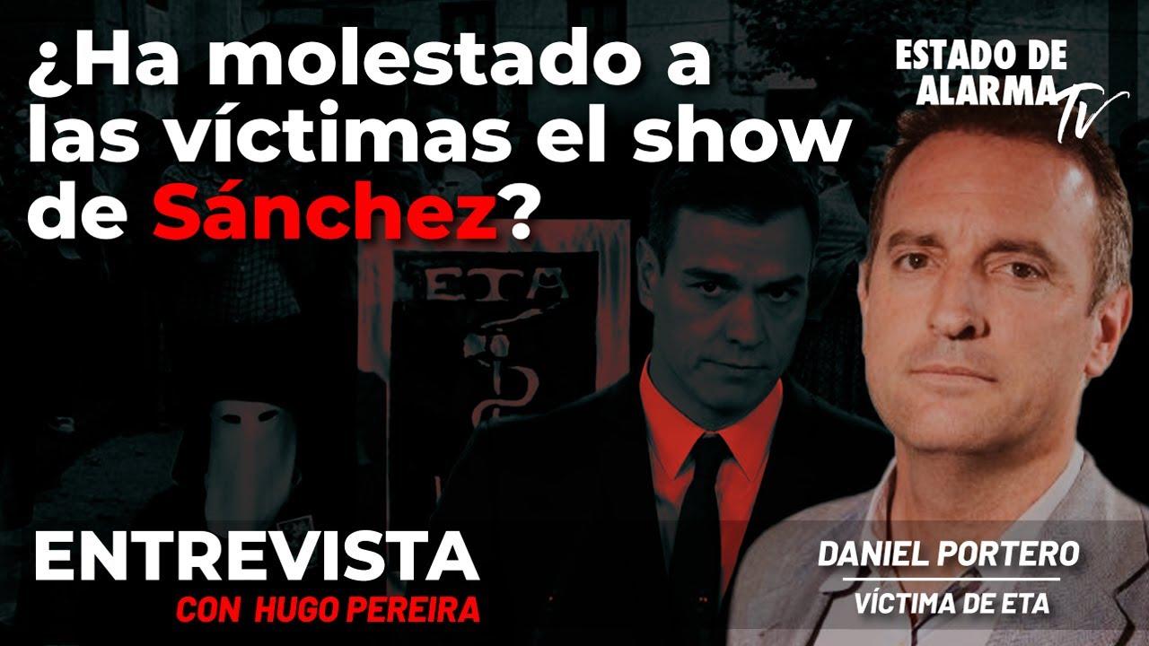 Entrevista Daniel Portero. ¿Ha molestado a las víctimas el show de Sánchez? En Directo con Pereira