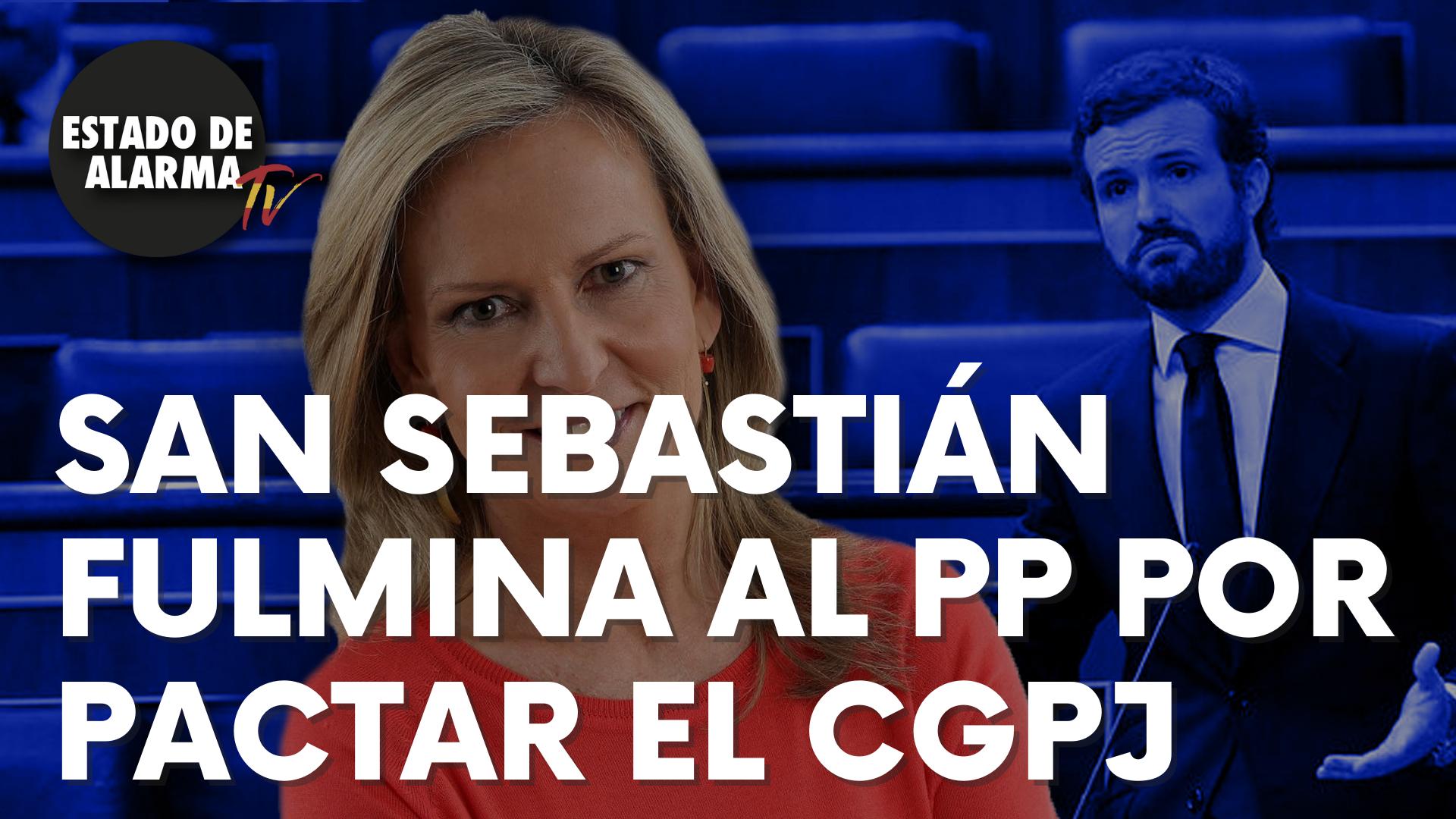 San Sebastián fulmina al PP por el pasteleo al pactar el CGPJ