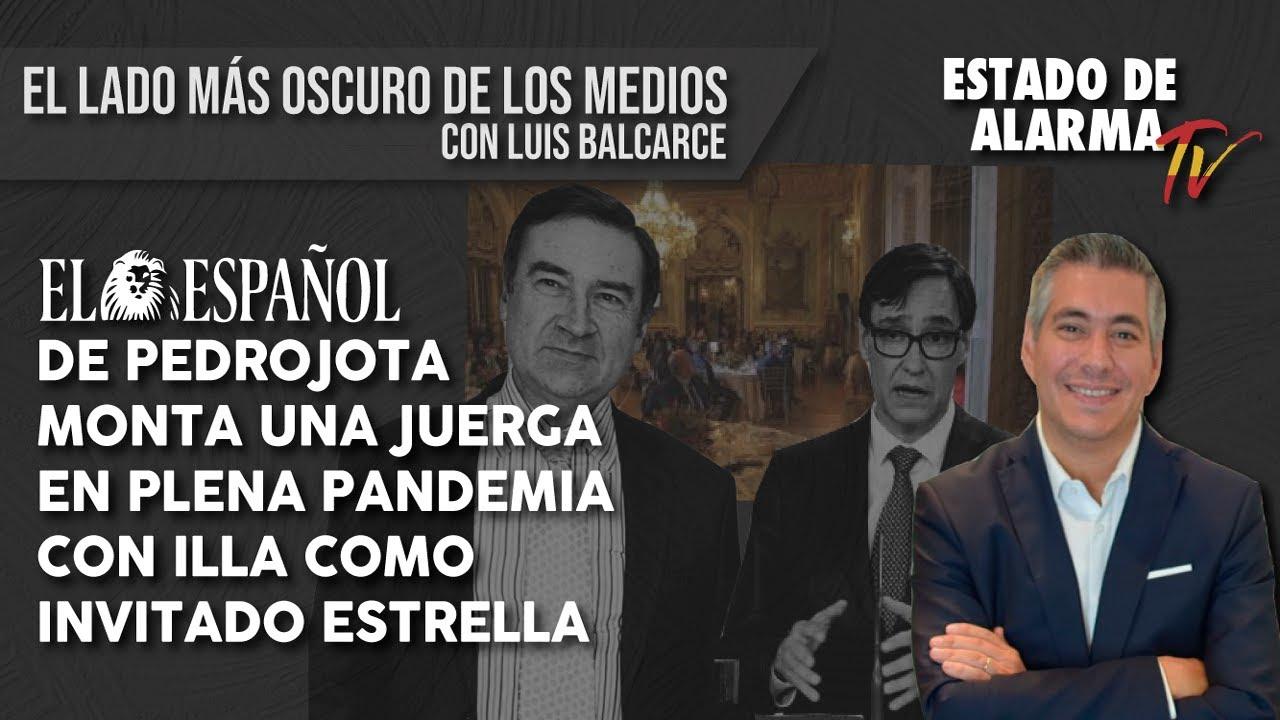 'El Español' de PEDROJOTA monta una JUERGA en plena PANDEMIA con ILLA como INVITADO ESTRELLA,
