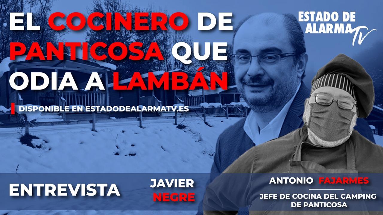 ENTREVISTA a ANTONIO FAJARMES, el COCINERO de PANTICOSA que ODIA a LAMBÁN