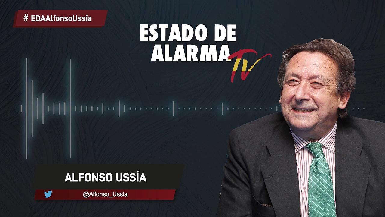 La COLUMNA de ALFONSO USSÍA, El MILAGRO del 'PINO FASCISTA' que CHOCÓ contra el BMW del PODEMITA MARIO HERRERA