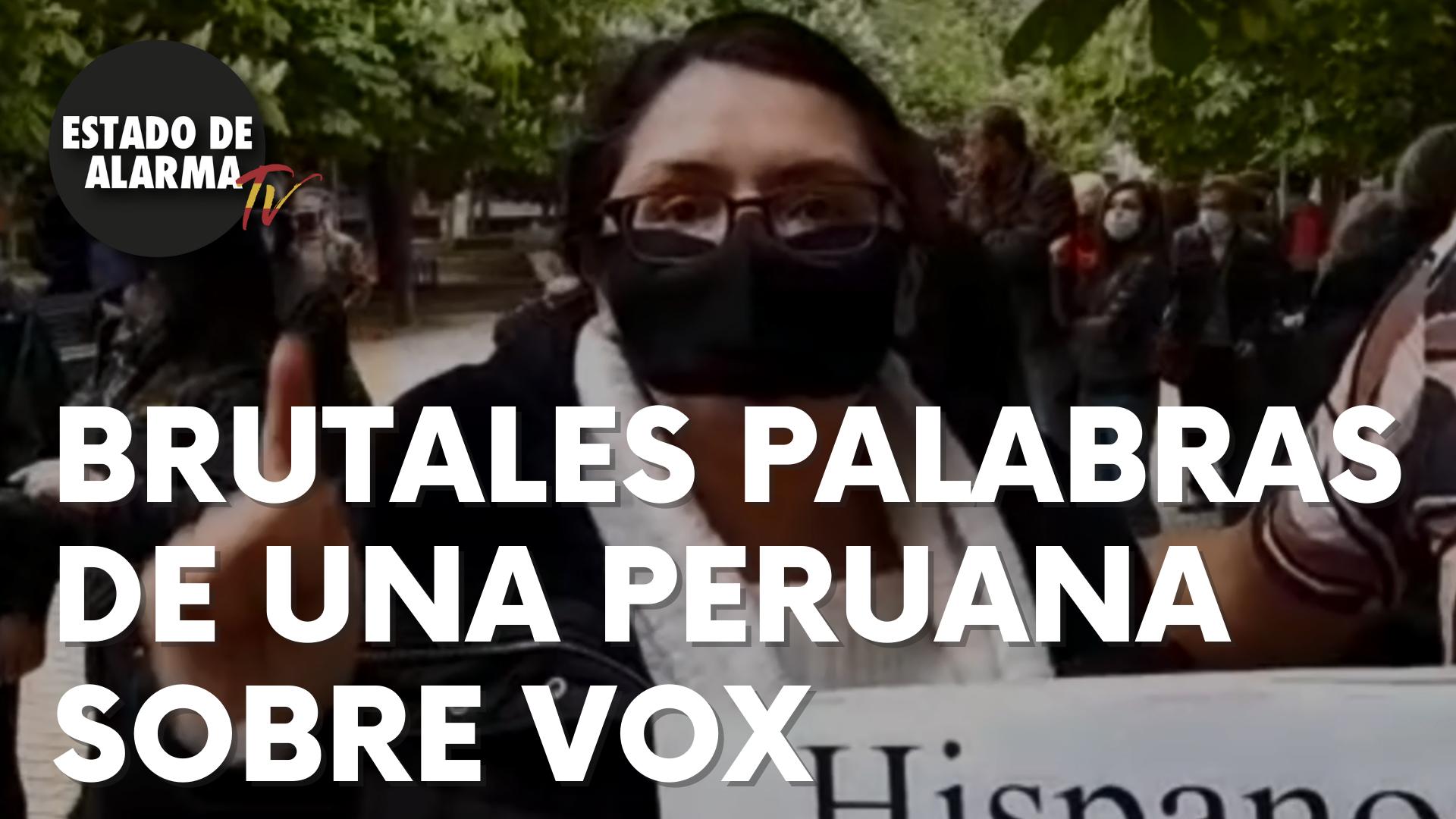 Brutales palabras de una inmigrante peruana sobre Vox que no dejan indiferente a nadie