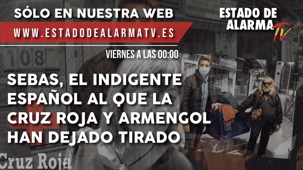 SEBAS, EL INDIGENTE ESPAÑOL AL QUE CRUZ ROJA Y ARMENGOL HAN DEJADO TIRADO
