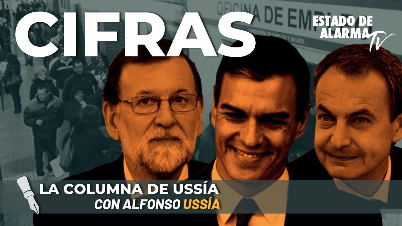 La columna de Alfonso Ussía: Cifras