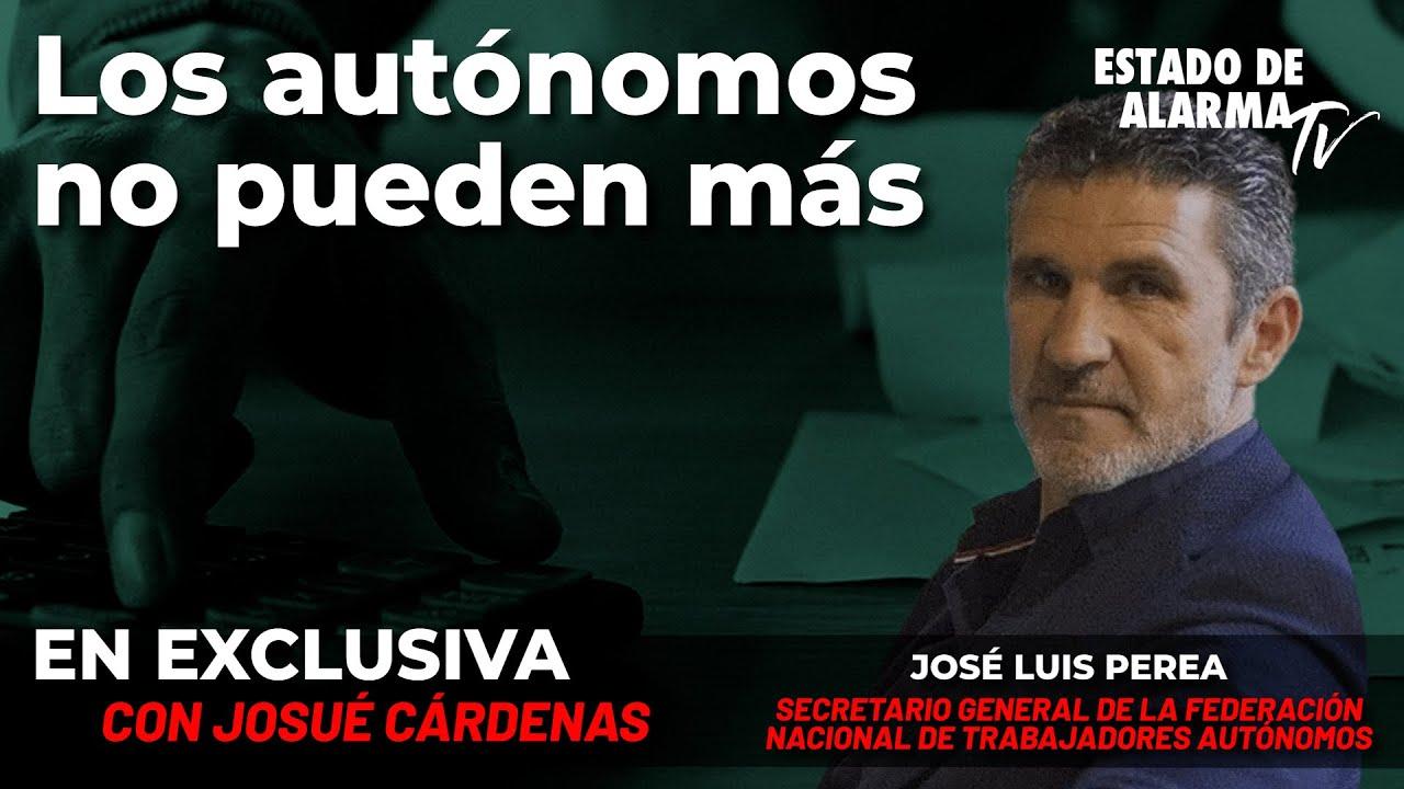 Entrevista en Exclusiva a José Luis Perea, Sec. Gral. de ATA. Los autónomos no pueden más